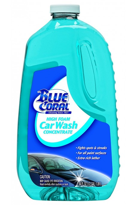 Автошампоан концентрат / Blue Coral High Foam Car Wash Concentrate 591 ml.