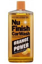 Автошампоан с портокалово масло от Nu Finish, 473 мл - 32 измивания