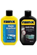 Rain-x за Шофиране в Дъжд + Rain-x Против Запотяване на Стъкла