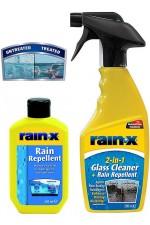 Rain-x - хидрофобно нано покритие за стъкло + Rain-x 2-in-1 Rain Repellent