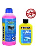 Rain-x за дъжд + Rain-x Добавка към Течността за Чистачки